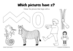 Letter Z Phonics Activities and Printable Teaching Resources ...