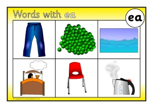Worksheets Ea Words words with ea phonics activities and printable teaching bingo sb8568