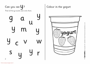 Letter Y Phonics Activities And Printable Teaching Resources Sparklebox