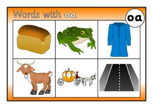 Words With Oa Phonics Activities And Printable Teaching
