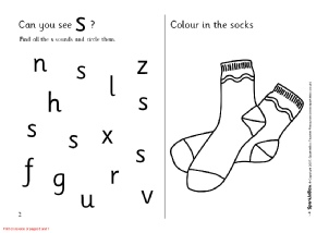 Letter S Phonics Activities and Printable Teaching Resources