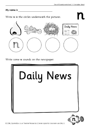math worksheet : letter n phonics activities and printable teaching resources  : Letter N Worksheets Kindergarten