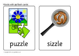 Words with ZZ - Phonics Activities and Printable Teaching Resources ...