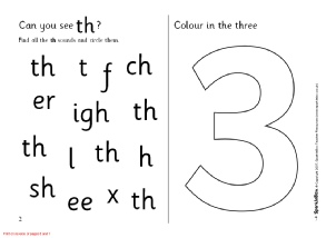 image about Th Worksheets Free Printable identify Text with TH - Phonics Things to do and Printable Instruction