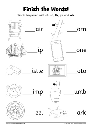 Words with TH - Phonics Activities and Printable Teaching Resources ...