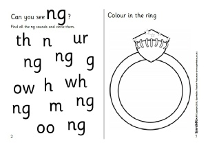 Words With Ng Phonics Activities And Printable Teaching