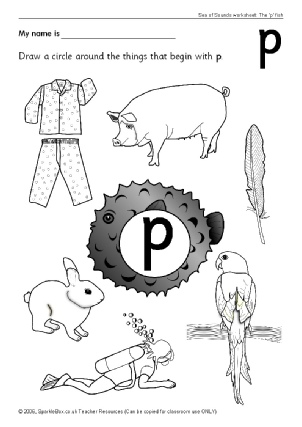 Common Worksheets » Letter P Worksheets For Preschoolers ...