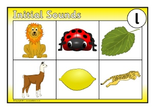 Initial sounds worksheets