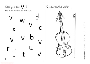Letter V Phonics Activities and Printable Teaching Resources ...