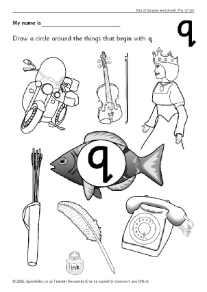 Letter Q Phonics Activities and Printable Teaching Resources ...