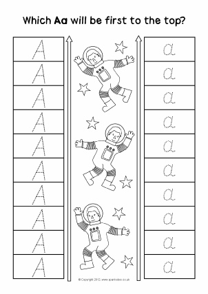 Uppercase letters & capital letters activities, games, printable ...