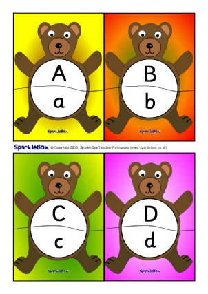 Uppercase Letters Capital Letters Activities Games Printable