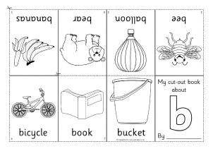 image relating to Printable Mini Booklets identify KS1 alphabet worksheets, KS1 phonics worksheets - Alphabet