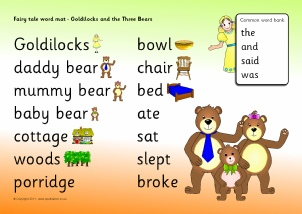 goldilocks and the three bears plot summary