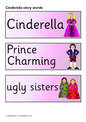 graphic about Cinderella Story Printable identify Cinderella Training Products Tale Sack Printables