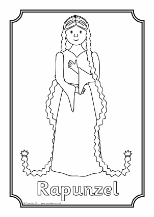 Rapunzel Teaching Resources Story Sack Printables