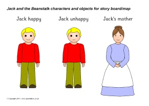 picture relating to Jack and the Beanstalk Story Printable named Jack and the Beanstalk Education Components Tale Sack