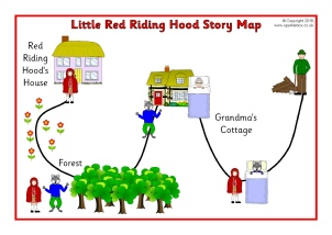 photo regarding Little Red Riding Hood Story Printable identified as Tiny Purple Using Hood Schooling Elements Tale Sack