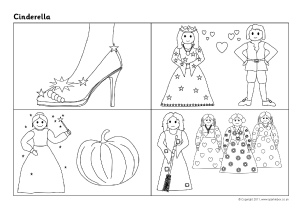 photo relating to Cinderella Story Printable identify Cinderella Schooling Materials Tale Sack Printables