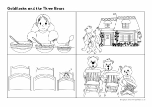 Goldilocks And The Three Bears Sequencing Sheets SB7215
