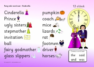 photo relating to Cinderella Story Printable named Cinderella Instruction Products Tale Sack Printables