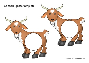 Three Billy Goats Gruff Teaching Resources & Story Sack Printables ...
