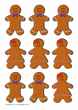 Gingerbread Man Teaching Resources  Story Sack Printables