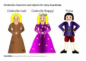 photo relating to Cinderella Printable Story identified as Cinderella Training Supplies Tale Sack Printables