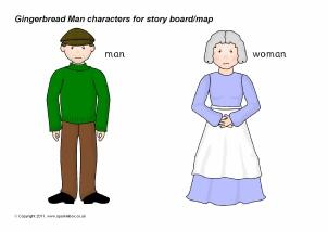 Gingerbread Man Teaching Resources & Story Sack Printables ...