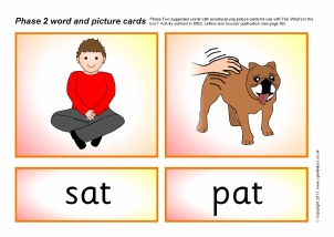 Phase 2 Letters and Sounds Literacy resources - SparkleBox