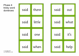 Phase 4 Letters and Sounds Literacy resources - SparkleBox