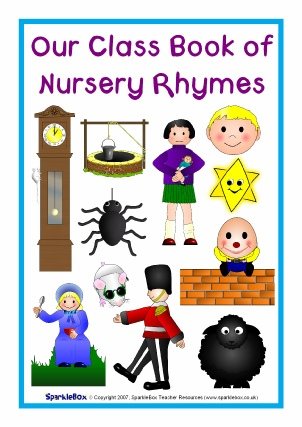 photograph about Printable Nursery Rhymes titled Printable Nursery Rhyme Tune Lyric Sheets - SparkleBox