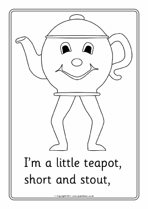 im a little teapot cartoon - photo #44