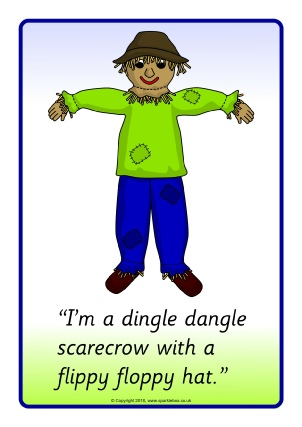 Dingle Dangle Scarecrow Visual Aids SB11540
