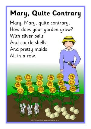 Nursery Songs Teaching Resources & Printables - SparkleBox