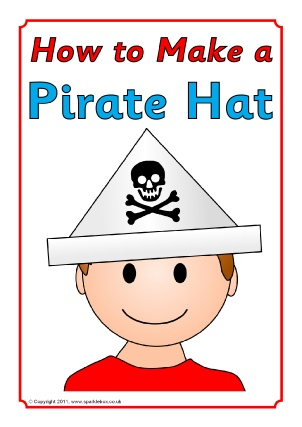 How To Make A Pirate Hat With A4 Paper