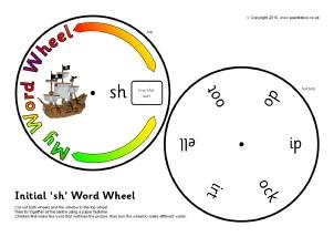 Printable Word Wheels for KS1 & EYFS - SparkleBox
