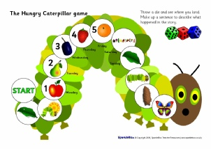 picture relating to Caterpillar Printable named Hungry Caterpillar Training Products Tale Sack