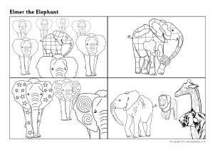 What are Elmer the Elephant activities?