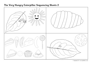 photo relating to The Very Hungry Caterpillar Story Printable referred to as Hungry Caterpillar Education Products Tale Sack