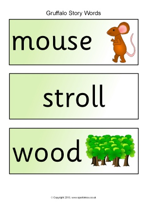 Gruffalo Teaching Resources Story Sack Printables Sparklebox