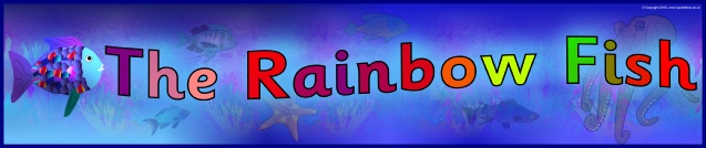 Image result for the rainbow fish banner
