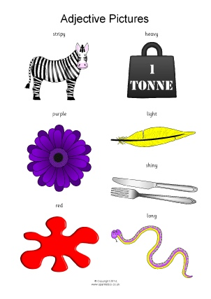 KS1 & KS2 Adjectives Teaching Resources and Printables