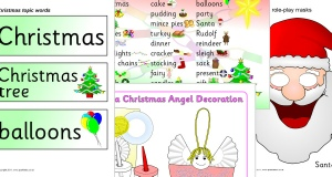 Christmas writing frames and printable page borders ks1 ks2 advertisements spiritdancerdesigns Images
