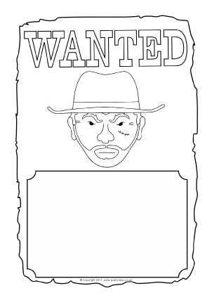 View Preview Cowboy Wanted Poster
