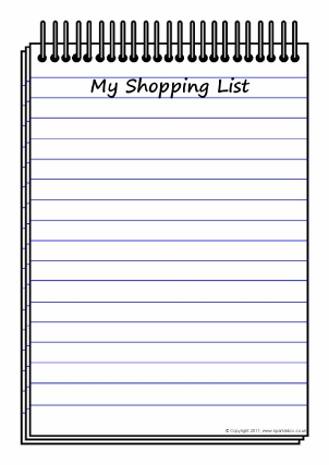 Lists Writing Frames And Printable Page Borders Ks  Ks  Sparklebox