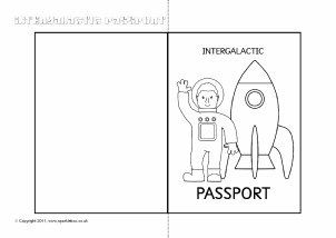image regarding Printable Passport Template identified as Pport Composing Frames and Printable Web site Borders KS1 KS2