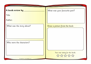 book review example ks2