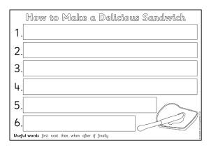 instructions writing frames and printable page borders ks1 ks2 sparklebox. Black Bedroom Furniture Sets. Home Design Ideas