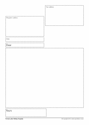 letter template eyfs  Letter Writing Frames and Printable Page Borders KS16 & KS16 ...